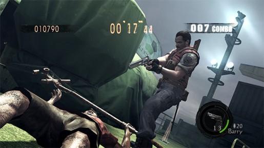 Resident Evil 5 - Due personaggi della Gold Edition