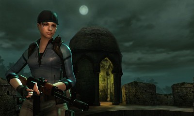 Resident Evil: The Mercenaries 3D - Screenshots
