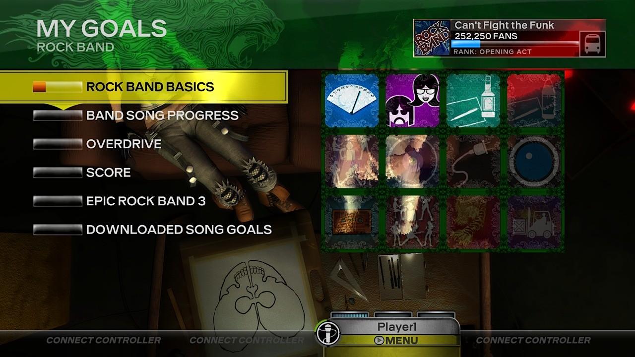 Rock Band 3 - Immagini dal Gameplay