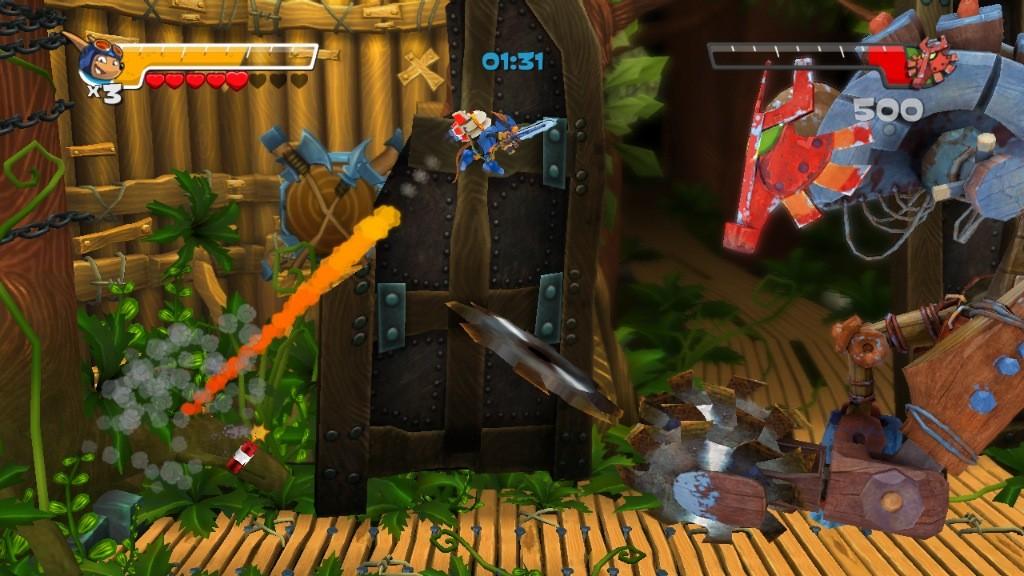 Rocket Knight - Immagini del gameplay