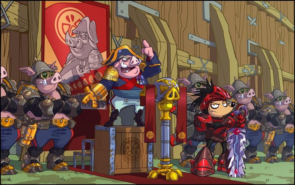 Rocket Knight - Screenshots