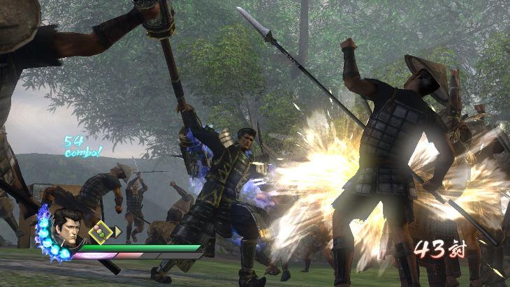 Samurai Warriors 3Z - Le prime immagini