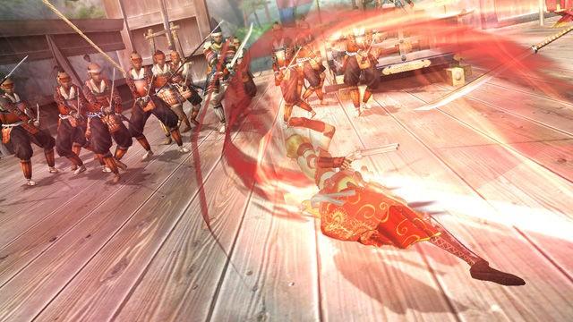 Sengoku BASARA Samurai Heroes - In game Screenshots