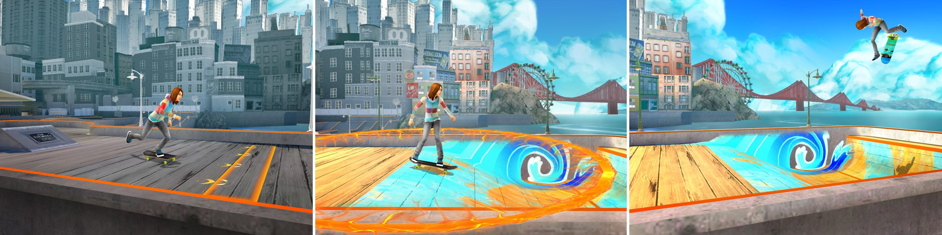 Shaun White Skateboarding - Acrobazie