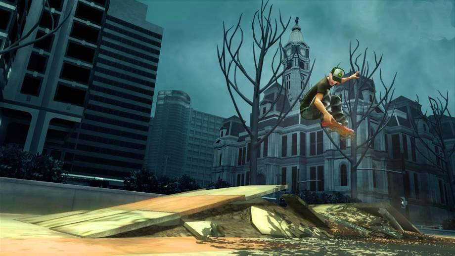 Shaun White Skateboarding - Screenshots
