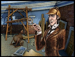 Sherlock Holmes and the Mystery of Osborne House - Indagini