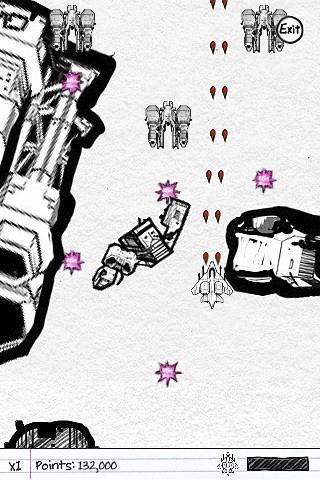 Sketch Nation Shooter - Screenshot
