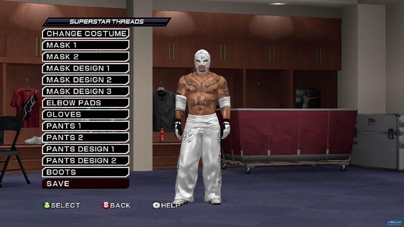 WWE Smackdown vs Raw 2011 - Personalizzazioni