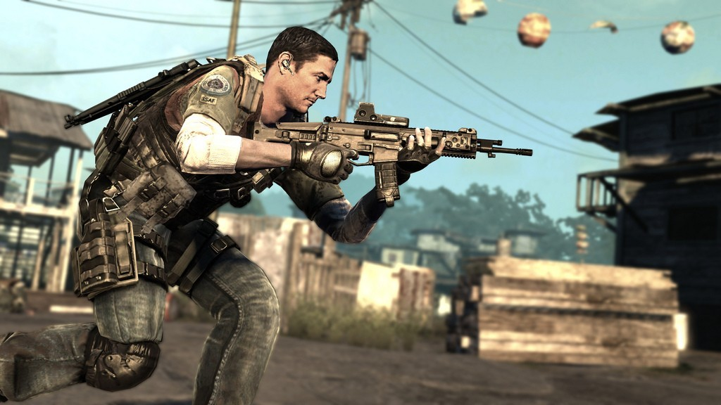 SOCOM 4 - Operations Commander Cullen Gray
