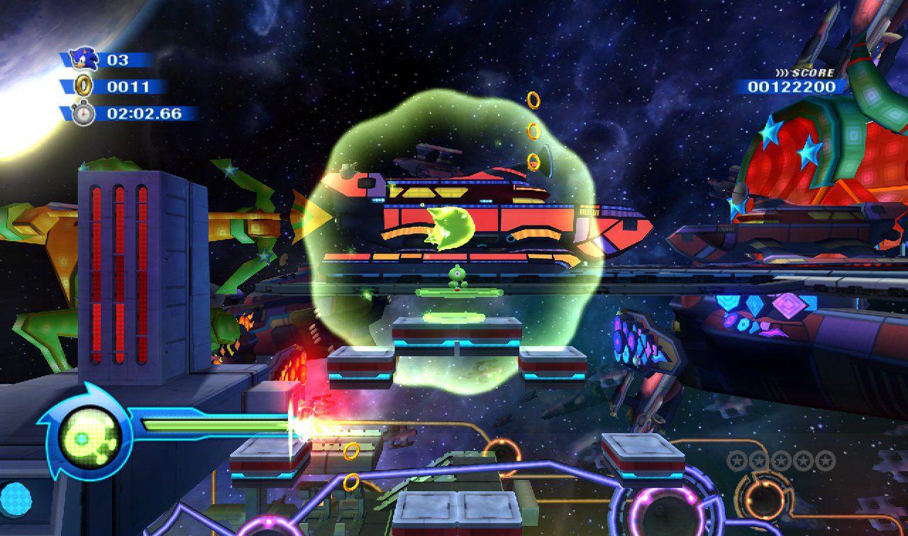 Sonic Colours - Wii Screenshots
