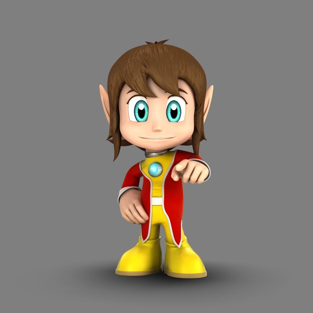 Sonic & Sega All-Stars Racing - Alex Kidd