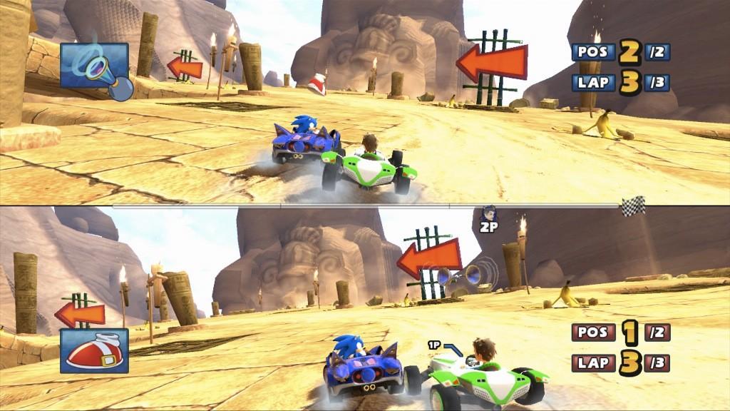 Sonic & Sega All-Stars Racing - Multiplayer