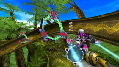 Sonic Free Riders - Screenshots