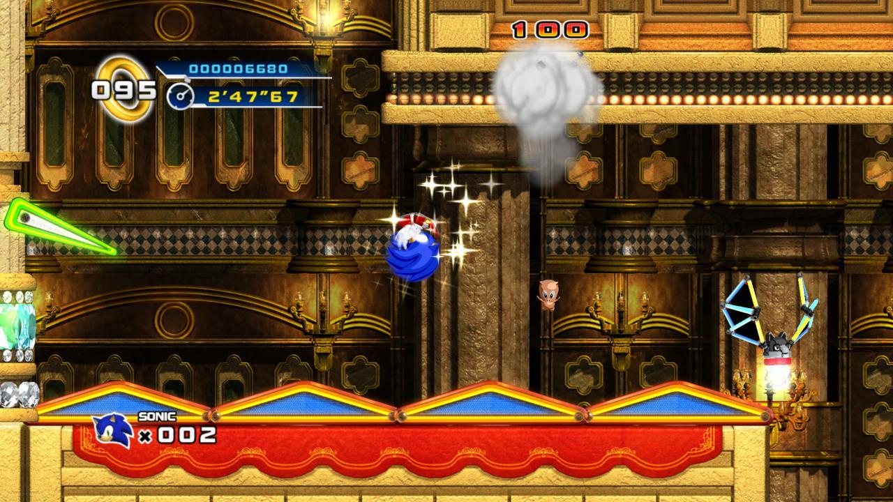 Sonic the Hedgehog 4 - Casino Streets