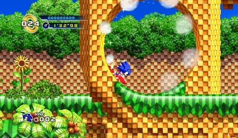 Sonic the Hedgehog 4 - Corri Sonic!