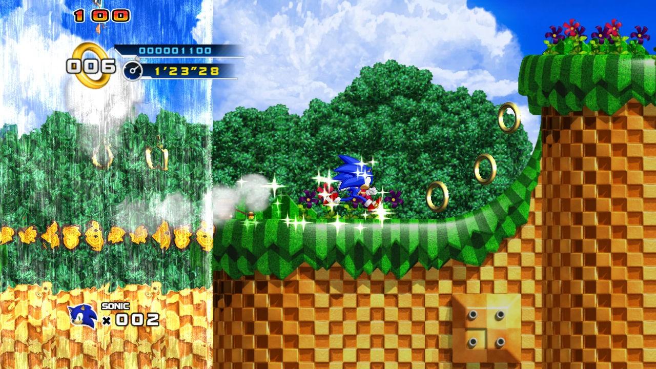 Sonic the Hedgehog 4 - Immagini PS3 e Xbox360