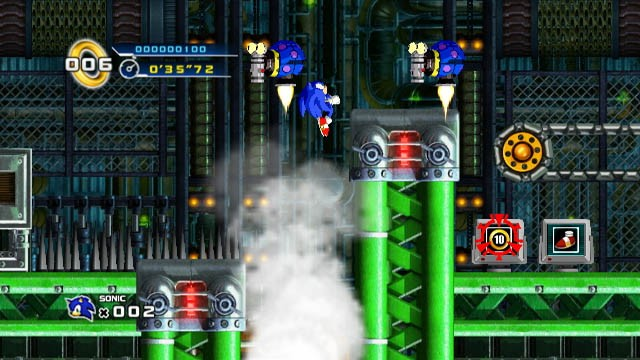 Sonic the Hedgehog 4 - Mad Gear Zone Wii