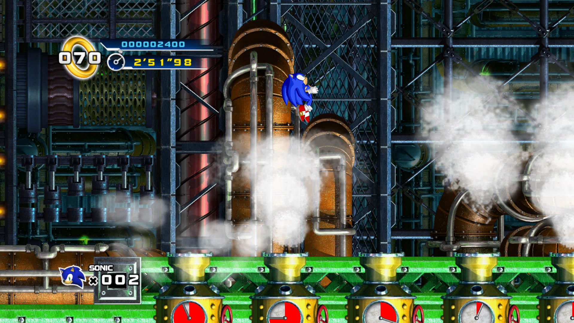 Sonic the Hedgehog 4 - Mad Gear Zone Xbox