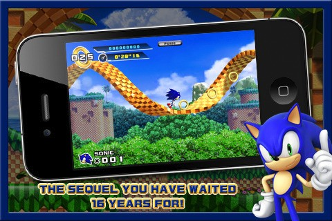 Sonic the Hedgehog 4 - Screenshots iPhone