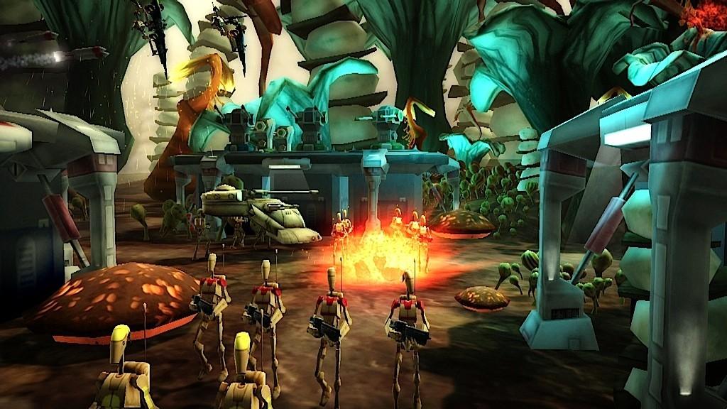 Star Wars: Clone Wars Adventures - Minigames
