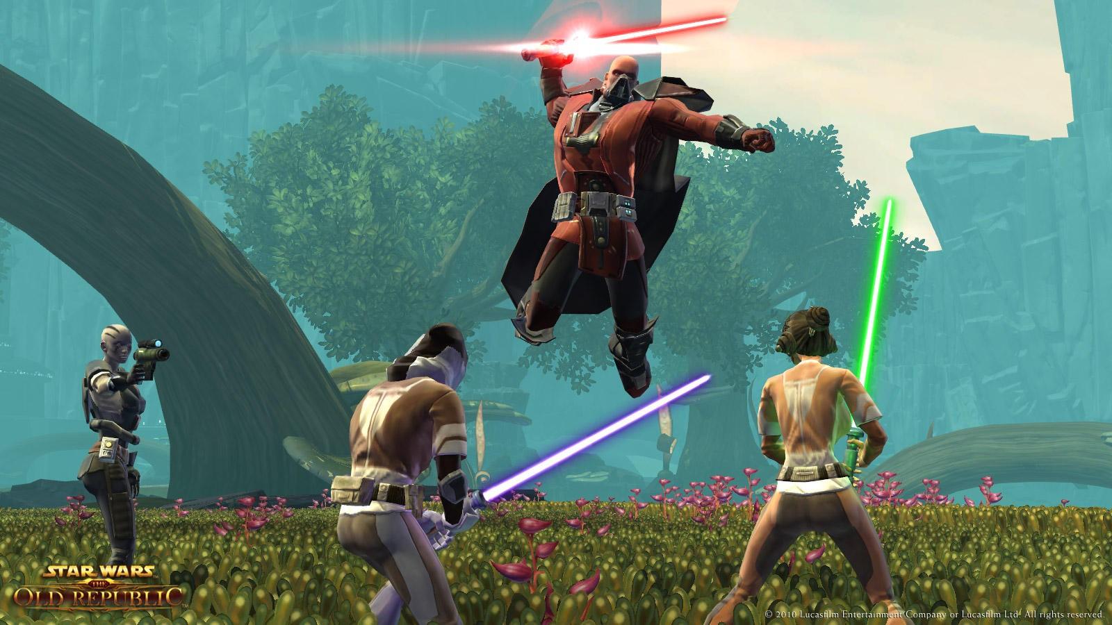 Star Wars: The Old Republic - Spade Laser