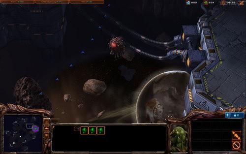 StarCraft II - Base spaziale