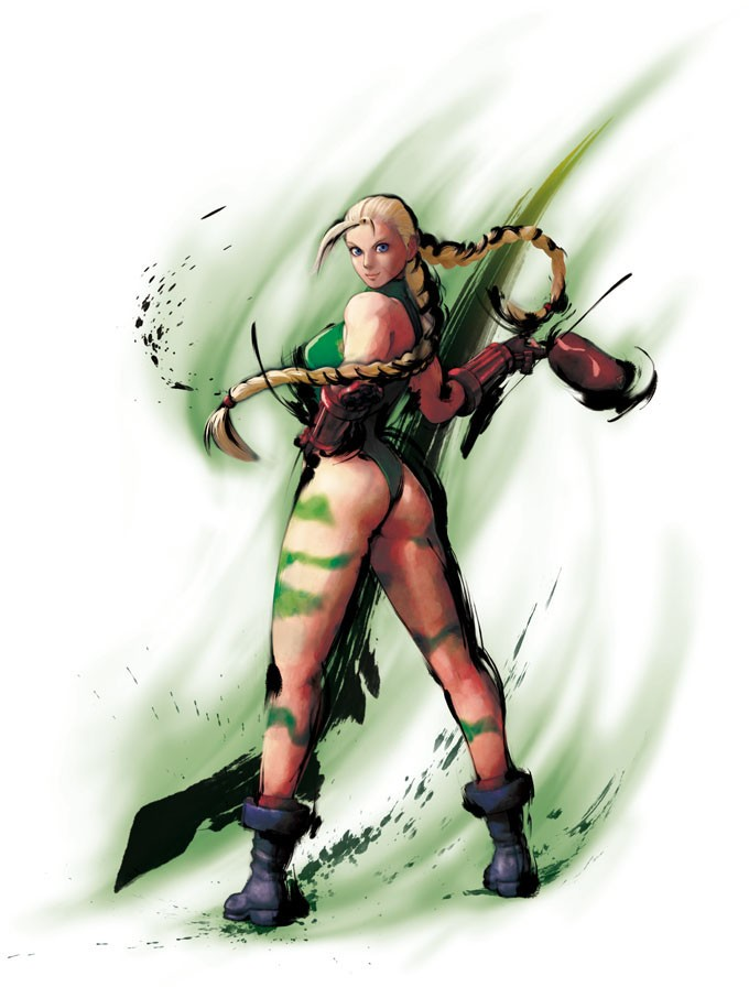 Street Fighter IV - iPhone - Cammy