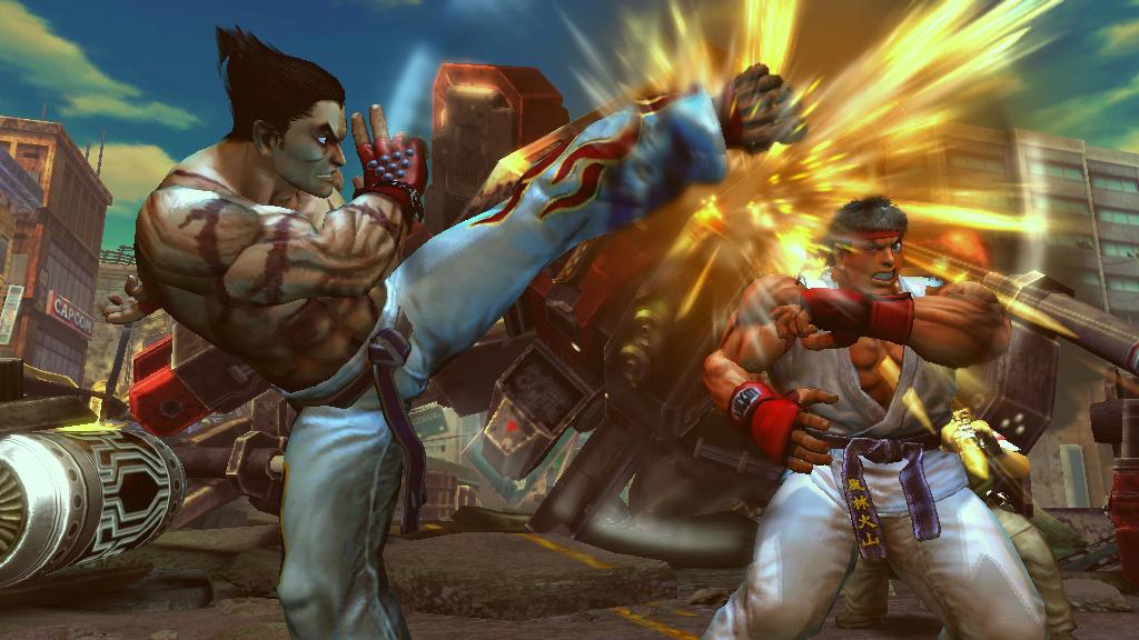 Street Fighter x Tekken - Si combatte in strada