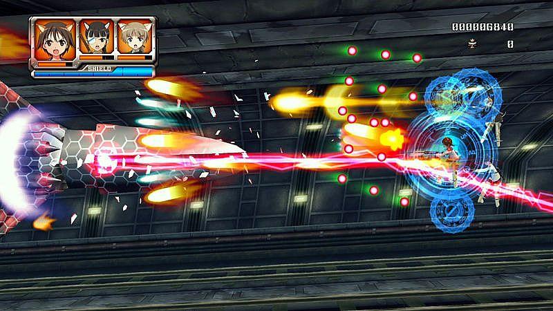 Strike Witches - Immagini dal gioco