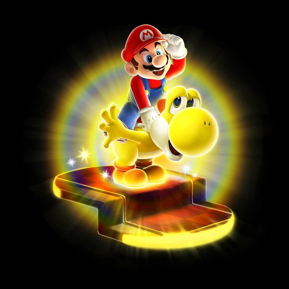 Super Mario Galaxy 2 - Artwork di Mario