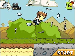 Super Scribblenauts - Immagini del gameplay