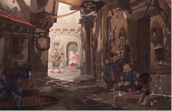 The Last Story - Immagini dalla città