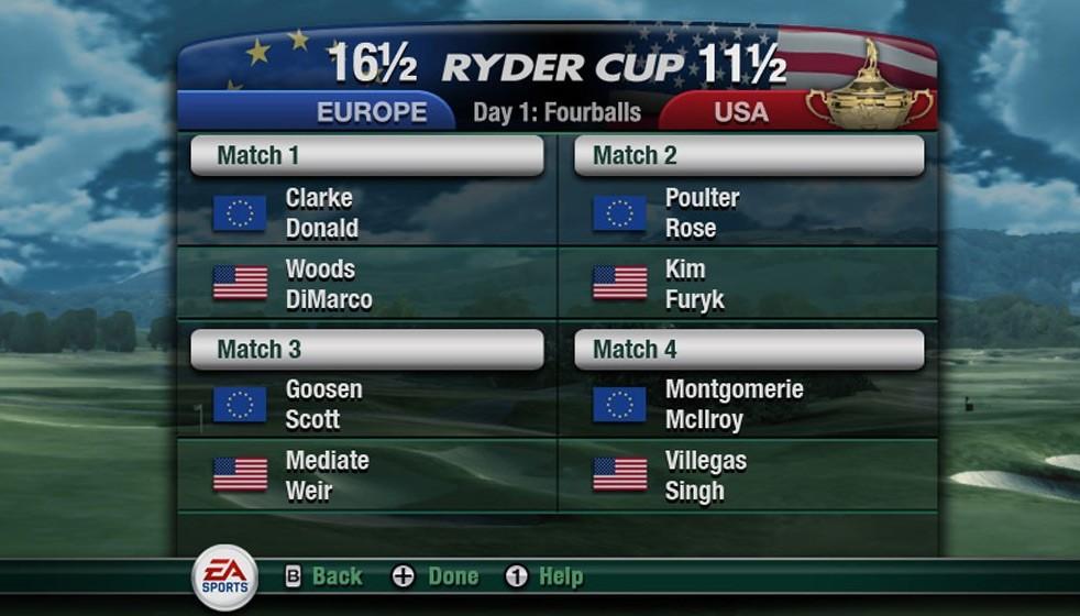 Tiger Woods PGA TOUR 11 - Immagini Wii