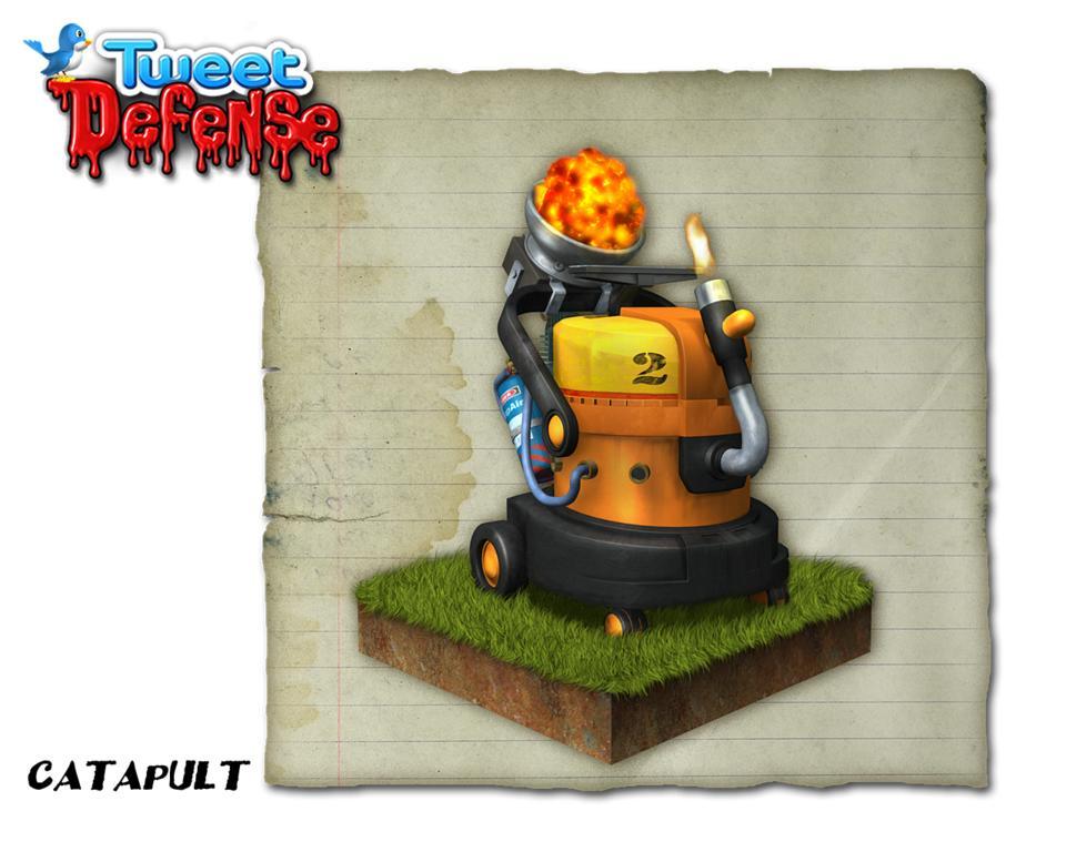 Tweet Defense - I personaggi del gioco