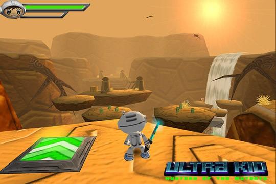 Ultra Kid: Mystery of the Mutants - Screenshots