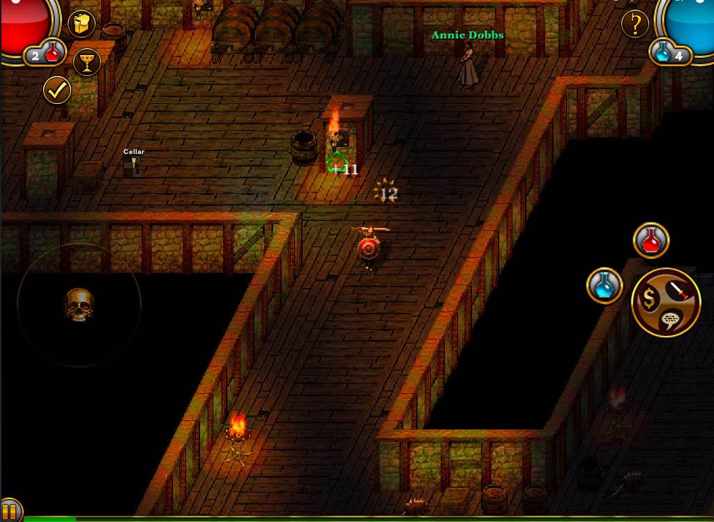 Underworlds - iPad Screenshots