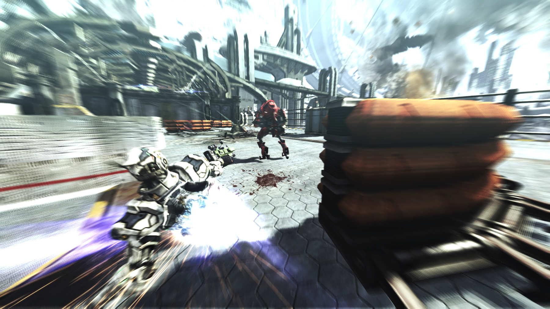 Vanquish - E3 2010 Screenshots