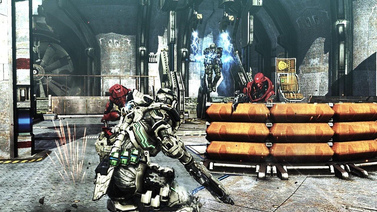 Vanquish - In game Screenshots