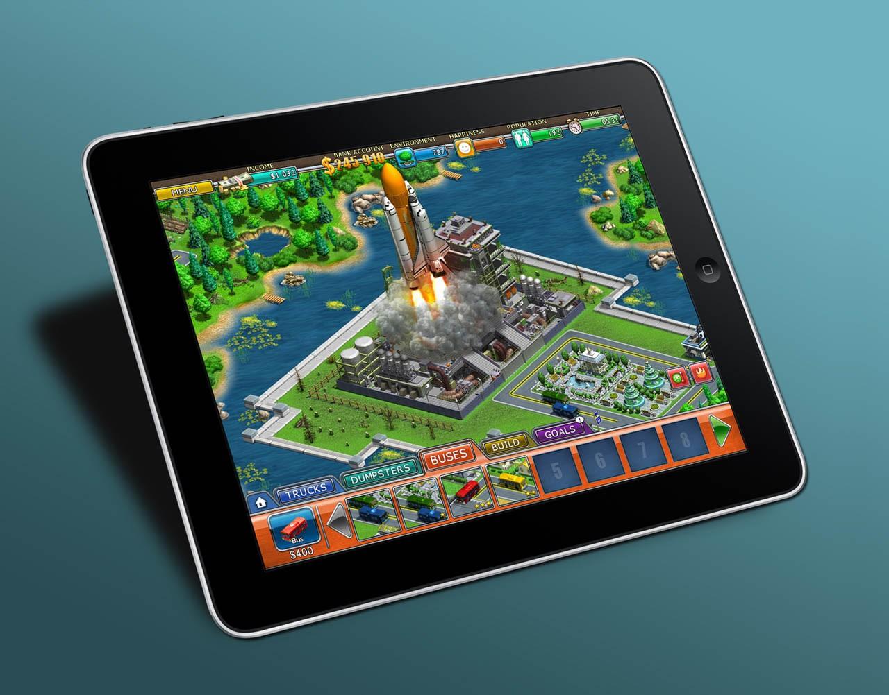 Virtual City - iPad version