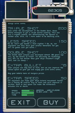 Warblade - Screenshots