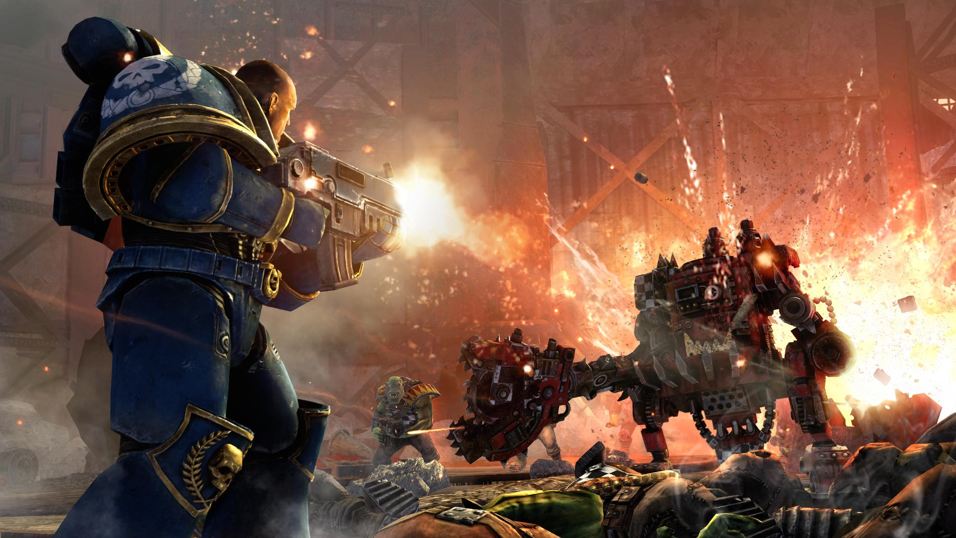 Warhammer 40.000: Space Marine - Screenshots
