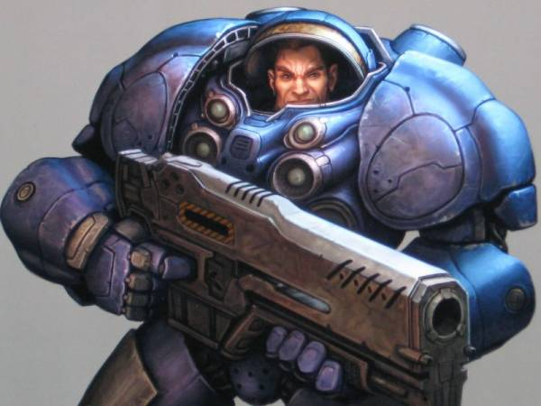 Warhammer 40.000: Space Marine - Screen & Artworks