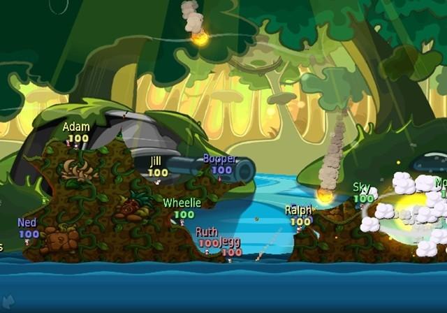 Worms Battle Islands - Screenshots Wii e PSP
