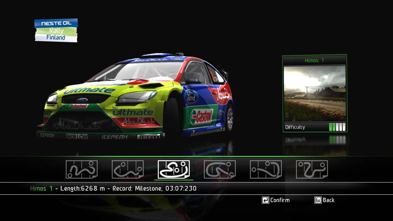 WRC: World Rally Championship - Modalità di gioco