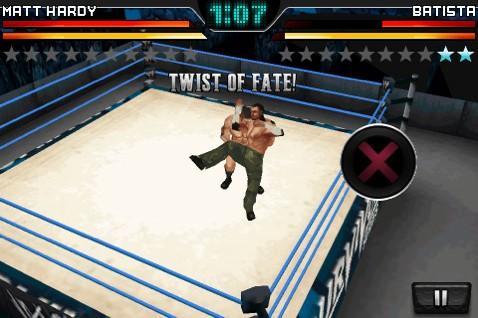 WWE Smackdown vs. Raw - iPhone Screen