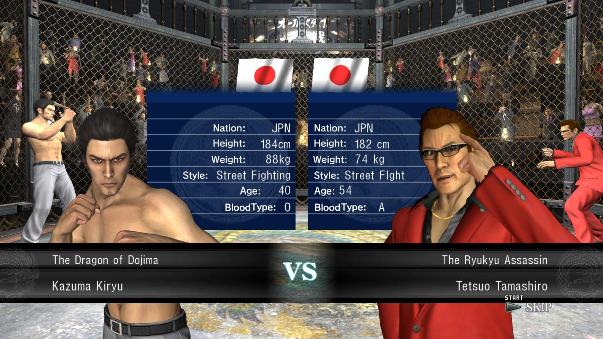 Yakuza 3 - Sul ring!
