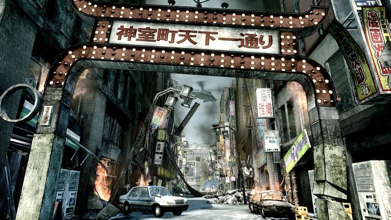 Yakuza 5 - Immagini dal gameplay