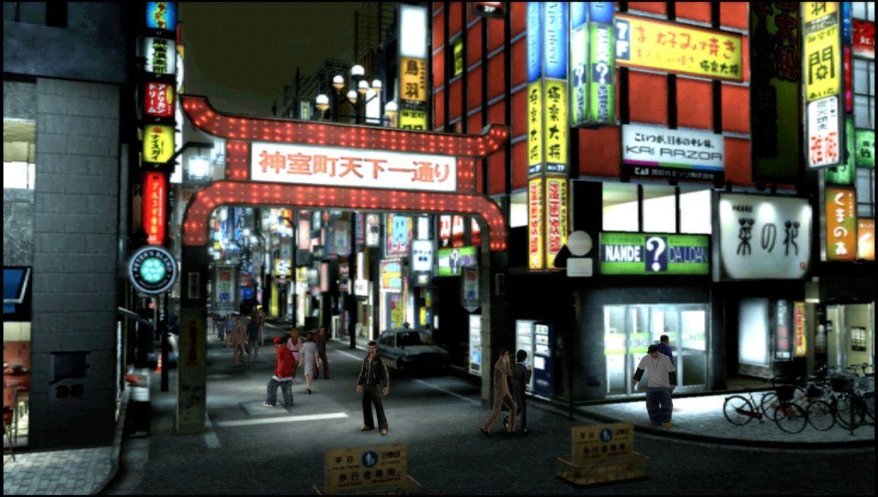 Yakuza: New Chapter Black Panther - Lotta in città