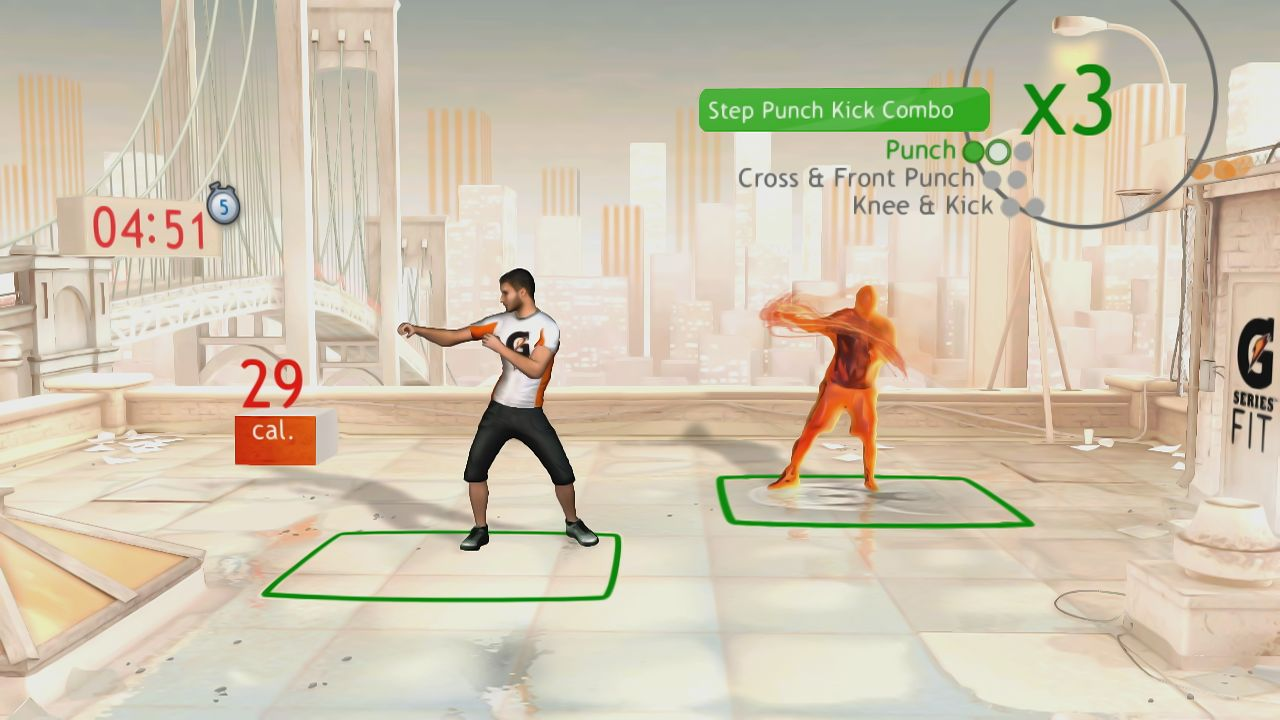 Your Shape: Fitness Evolved - Cardio Boxing Screenshots