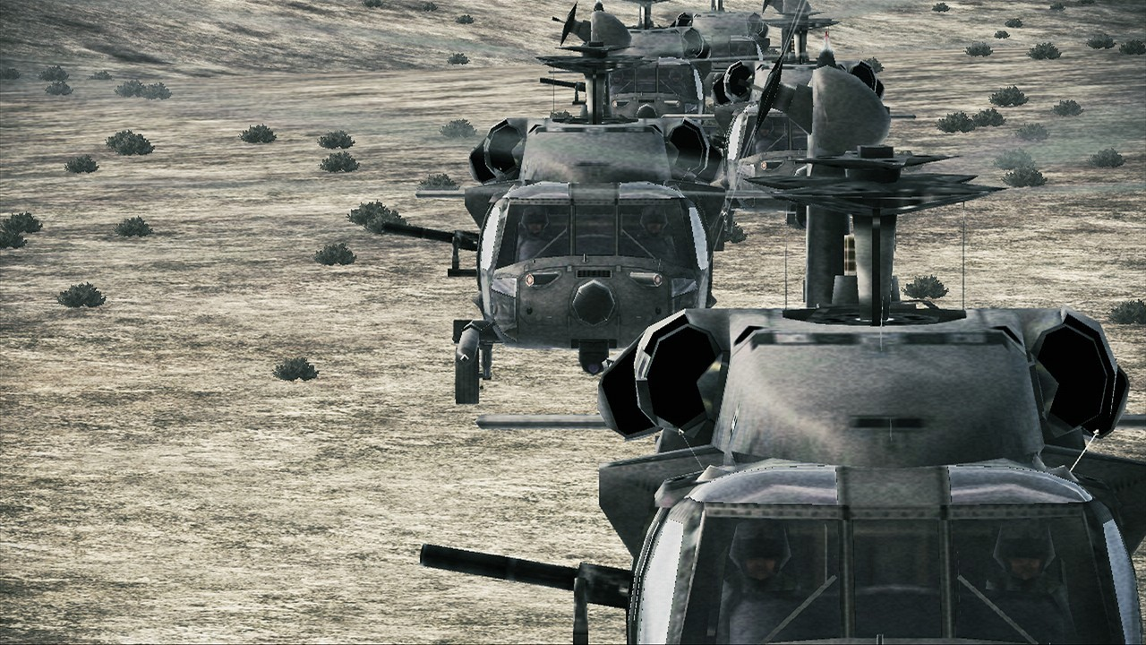Ace Combat: Assault Horizon - Story